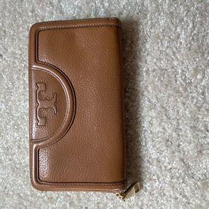 Tory Burch Camel Wallet
